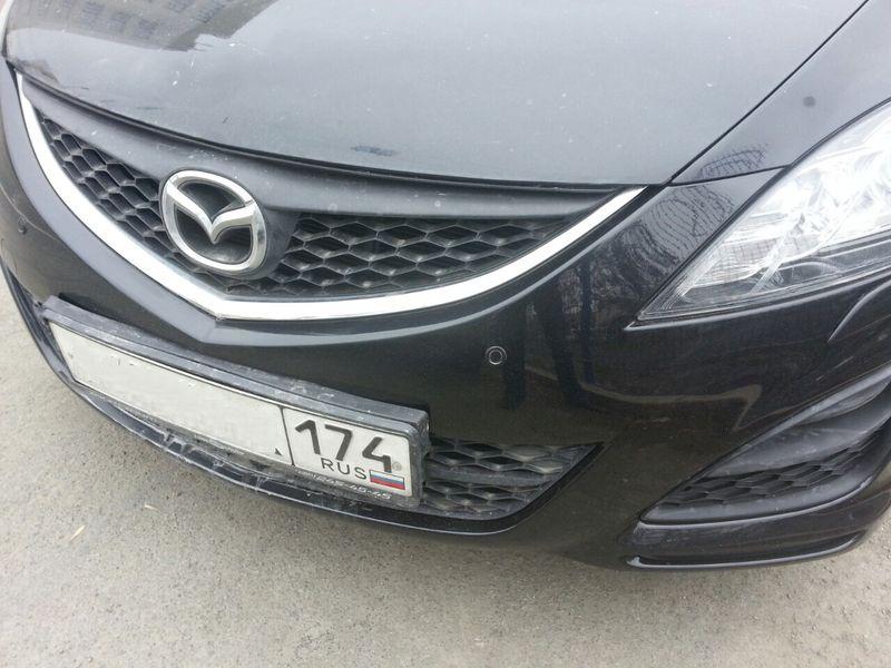 Покраска бампера Mazda